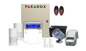 COMBO 7 – Paradox MG5050 32 hybrid zones wireless alarm kit components