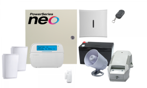 COMBO 9 – DSC NEO 64 hybrid zones wireless alarm kit componen