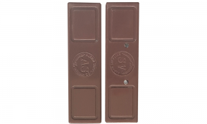 Magnetic door contact, brown