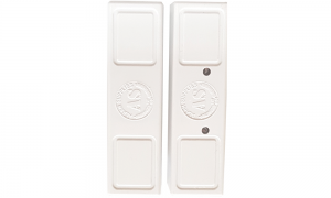 Magnetic door contact, white