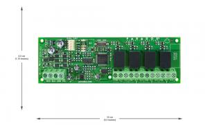PAR PGM4 4-PGM expander module – for MG5050/SP6000/EVO