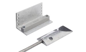 Magnetic door contact, roller shutter, with L bracket