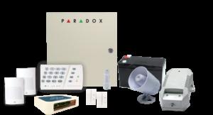 PARADOX Kit including a FREE Olarm Device