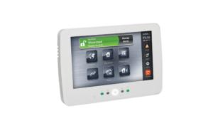 DSC Touch screen LCD keypad, PTK5507