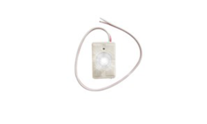 Status LED Indicator, flat, Green surface or recessed – 12 Volt