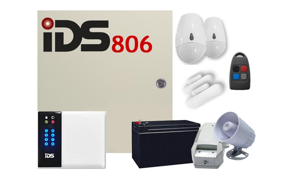 IDS 806 WIRELESS 8 ZONE KIT