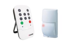 XGuard kit, 1 x XGuard, 1 x OPTEX Xwave LX 80 wireless outdoor detector