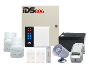COMBO 1 – IDS 806 Wired Alarm Kit