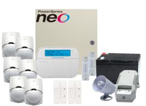 COMBO 5 – DSC NEO Wired alarm kit