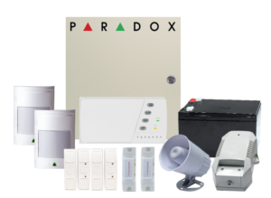 COMBO 2 – PARADOX SP65 Wired Kit